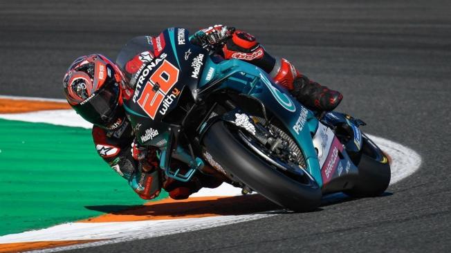 Fabio Quartararo lidera el primer test de MotoGP de 2020