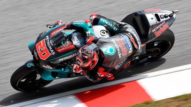 Quartararo resiste la presión de Márquez y logra la pole en Sepang