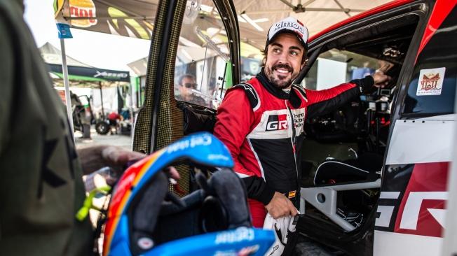 Fernando Alonso eleva su ritmo en la tercera etapa del Ula Rally