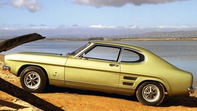 Ford Capri - lateral