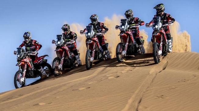 Honda anuncia su alineación de pilotos para el Dakar 2020