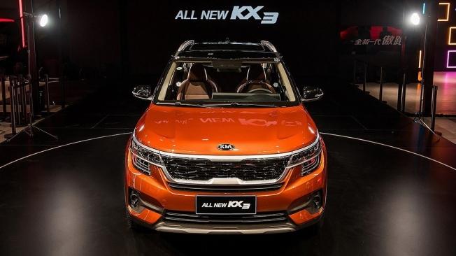 Kia KX3 2020 - frontal