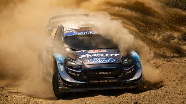 M-Sport cierra su 2019 en Australia con tres Ford Fiesta WRC