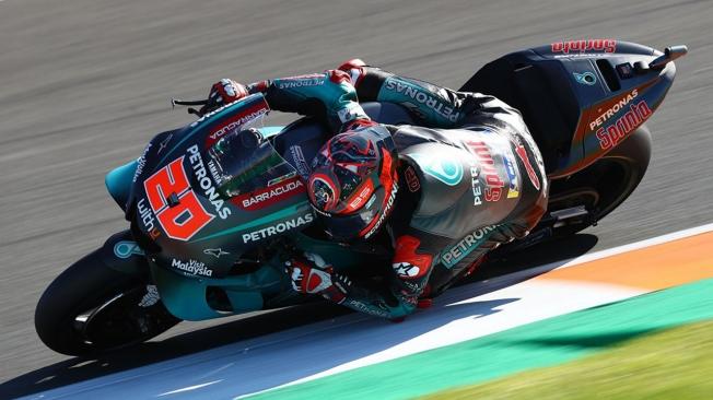 Maverick Viñales cierra el test de MotoGP en Valencia como líder