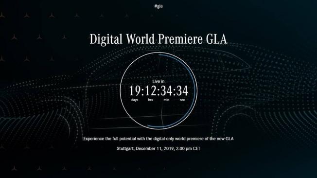 Mercedes GLA 2020 - teaser
