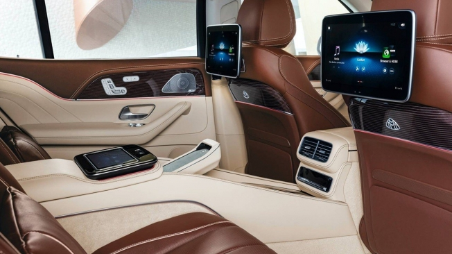 Mercedes-Maybach GLS - interior