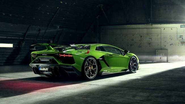 Lamborghini Aventador SVJ preparado por Novitec