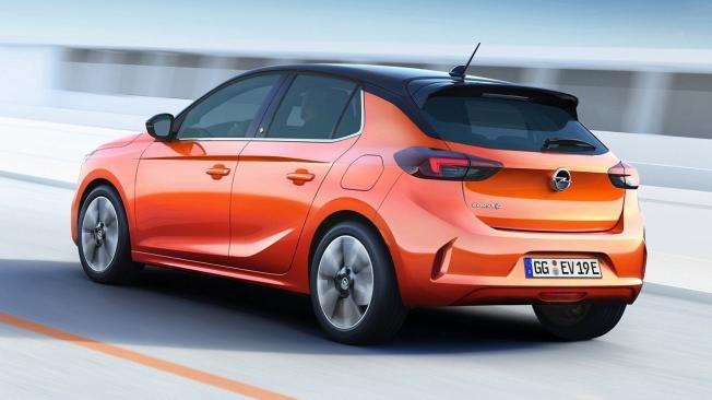 Opel Corsa-e - posterior