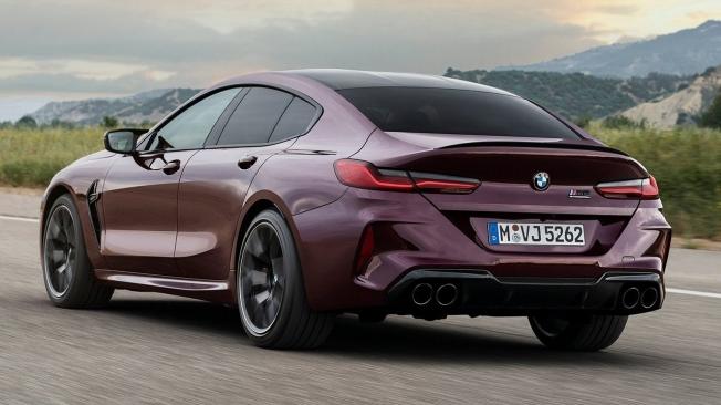 BMW M8 Gran Coupé - posterior