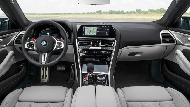 BMW M8 Gran Coupé - interior