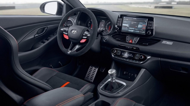 Hyundai i30 N Project C - interior