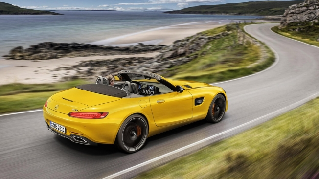 Mercedes-AMG GT S Roadster - posterior