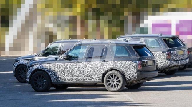 Range Rover 2021 - foto espía