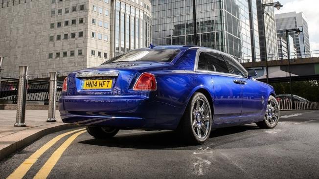 Rolls-Royce Ghost - posterior