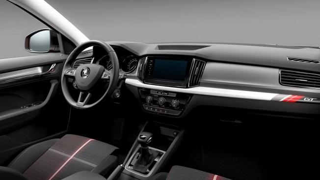Skoda Kamiq GT - interior