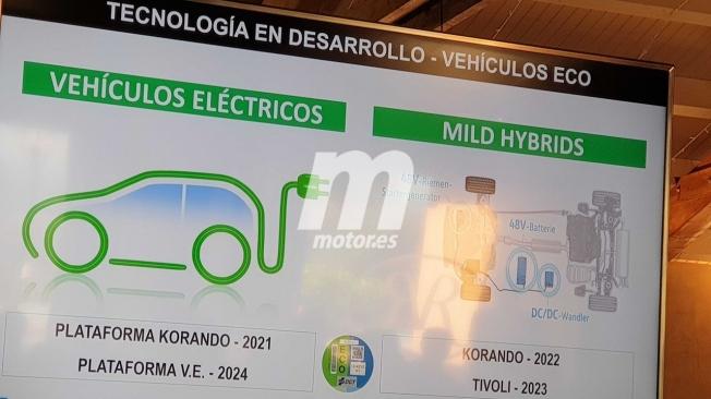Los coches eléctricos e híbridos de SsangYong