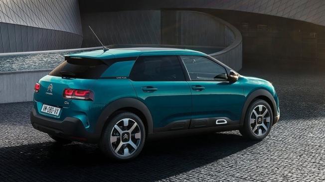 Citroën C4 Cactus - posterior