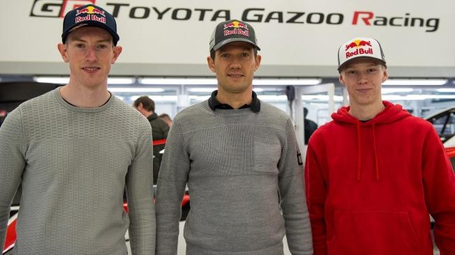 Toyota renueva su proyecto en el WRC con Ogier, Evans y Rovanperä