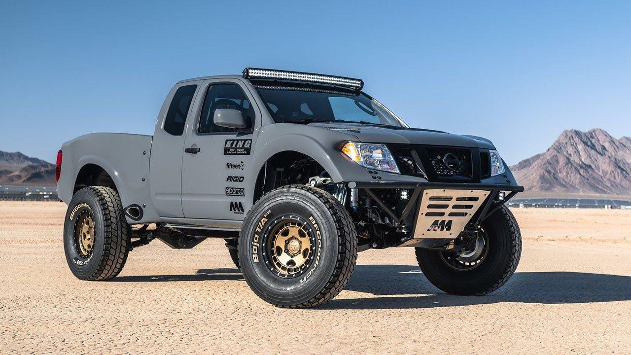 Nissan Frontier Desert Runner Concept, un pick-up con esencia deportiva