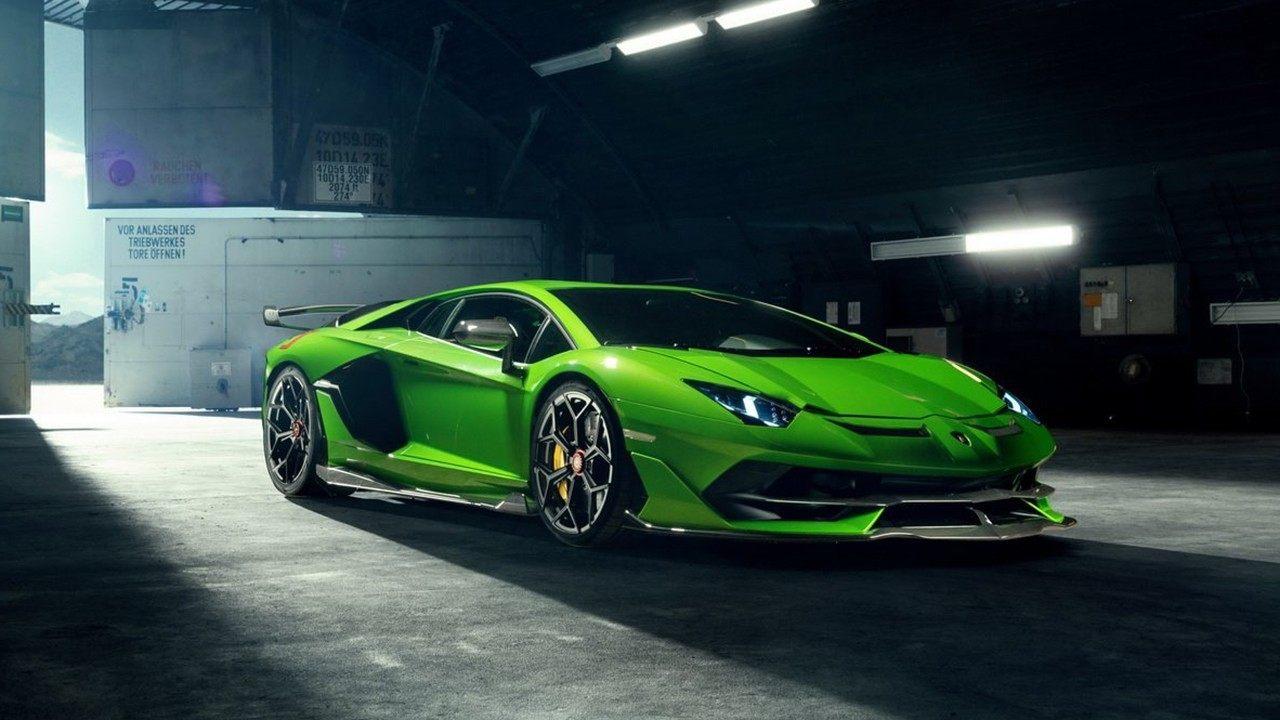Novitec hace del Lamborghini Aventador SVJ un superdeportivo más radical