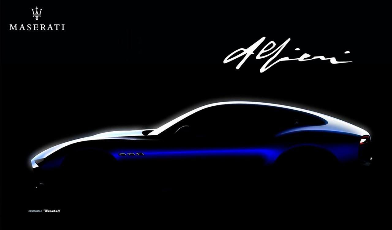 Nuevo teaser de la marca del Tridente: el Maserati Alfieri debutará en mayo de 2020