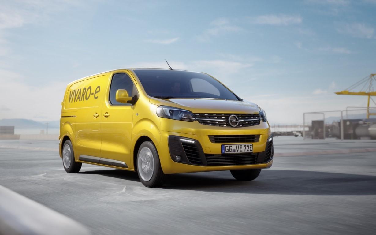 Opel Vivaro-e 2020, la marca del rayo desvela su furgoneta eléctrica