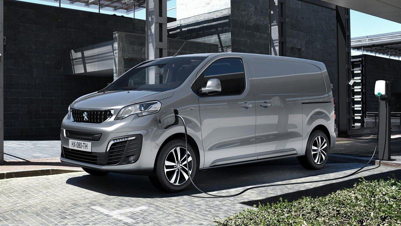 Peugeot e-Expert, una furgoneta eléctrica con hasta 300 km de autonomía