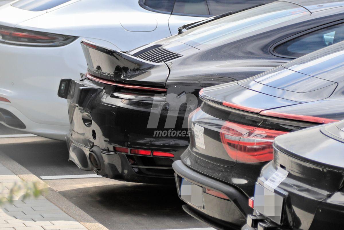 Cazado un prototipo con el clásico alerón cola de pato ¿Vuelve el 911 Sport Classic?