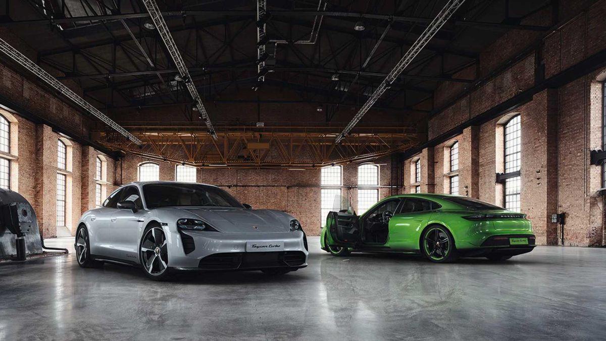 Porsche nos muestra el Taycan Turbo Carbon SportDesign package