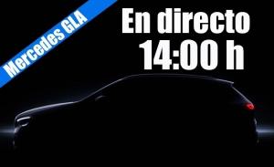 Sigue en directo la presentación del nuevo Mercedes GLA 2020