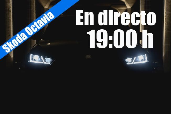 Sigue en directo la presentación del nuevo Skoda Octavia 2020