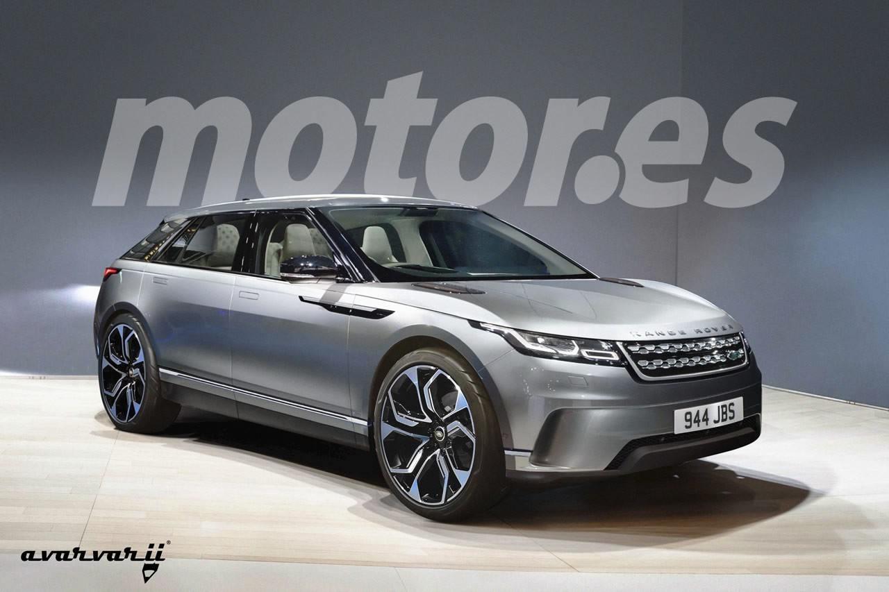 Adelantamos el diseño del Road Rover, el crossover eléctrico de Land Rover para 2020