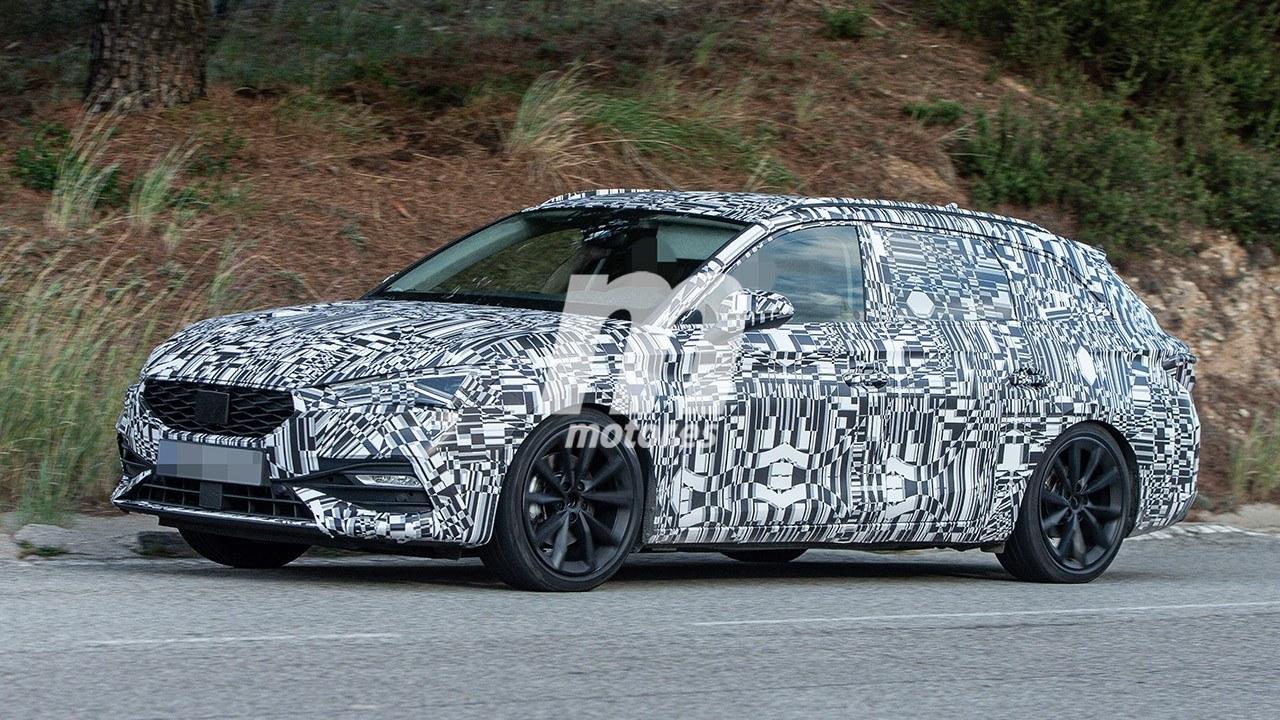 El nuevo SEAT León ST 2020 es cazado a plena luz del día