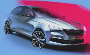 Dos teasers revelan el diseño del nuevo Skoda Rapid para Rusia y China