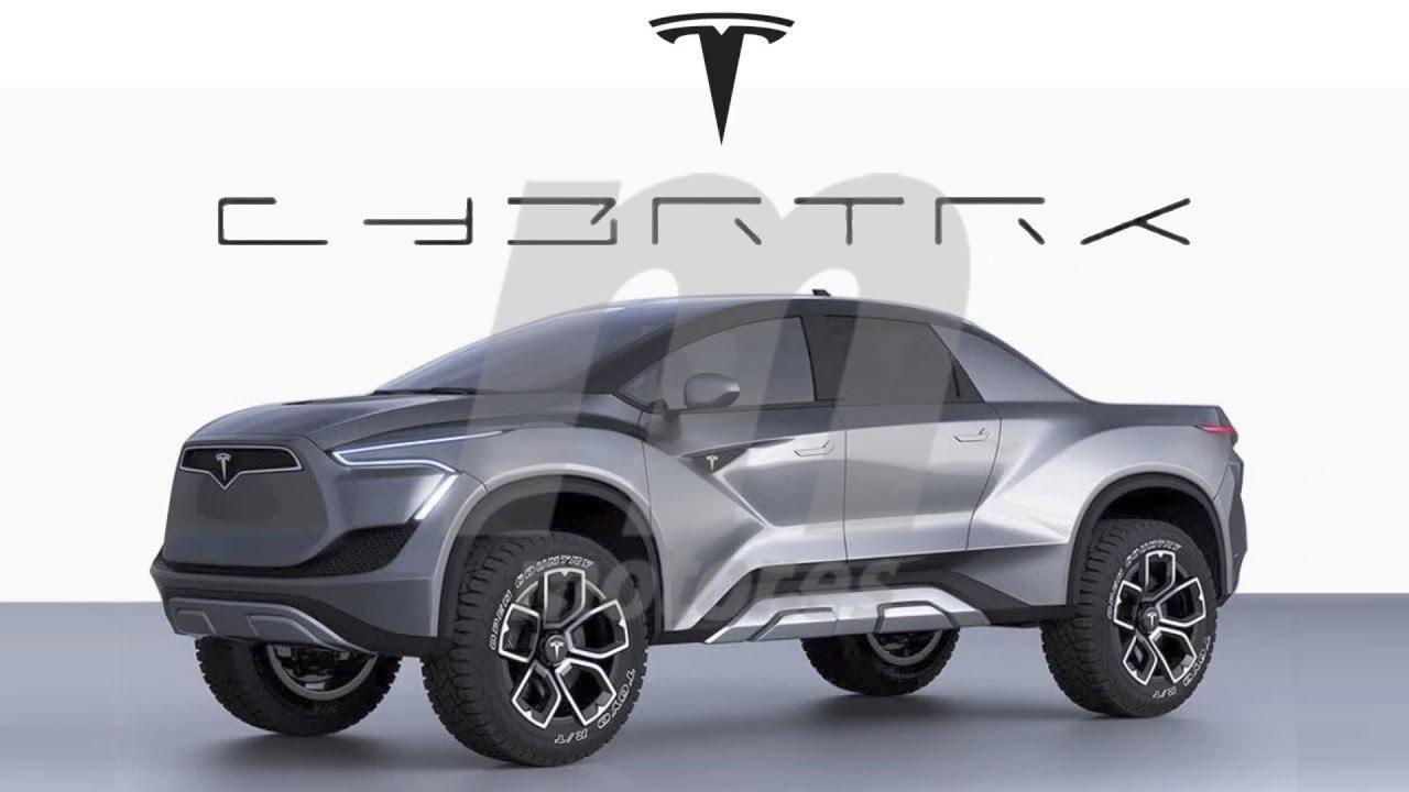 Cybertruck, así se llamará el pick-up de Tesla y éste será su logo