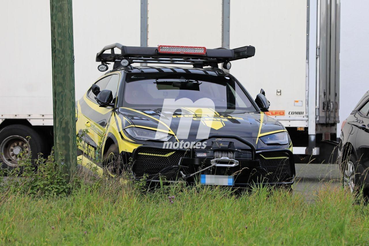 Lamborghini ya dispone de su propio vehículo de rescate basado en el Urus