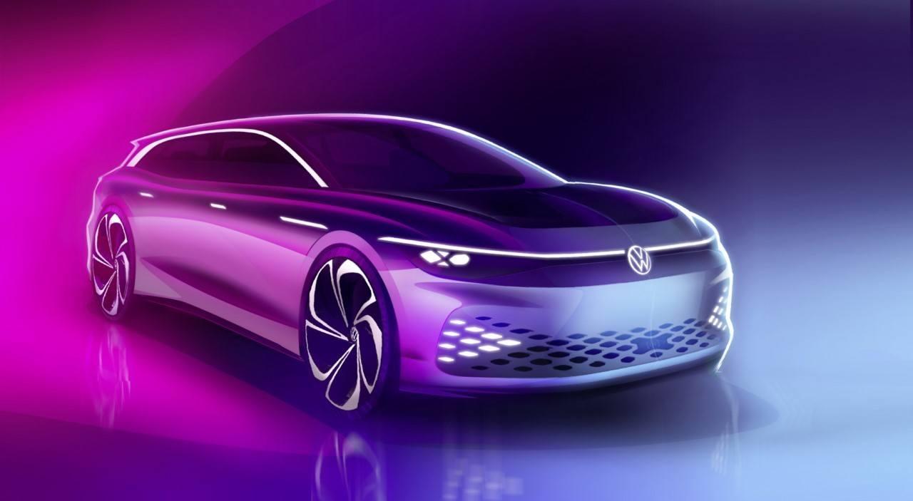 Volkswagen ID. SPACE VIZZION, nuevo concepto eléctrico para el Salón de los Ángeles 2019