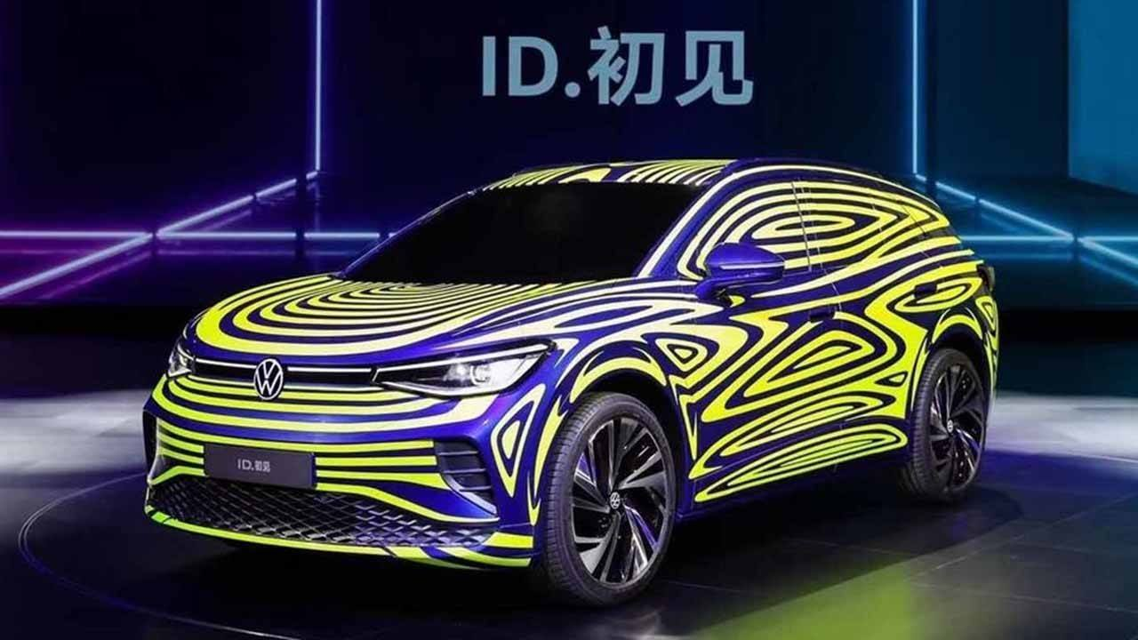 El esperado Volkswagen ID.4 se presenta, camuflado, en China
