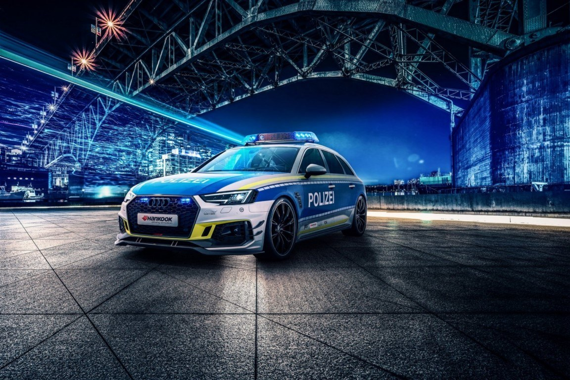 ABT RS4-R, el familiar promociona la seguridad vial en el Salón de Essen 2019