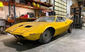 El primer prototipo del AMC AMX/3 descubierto y rescatado en Michigan