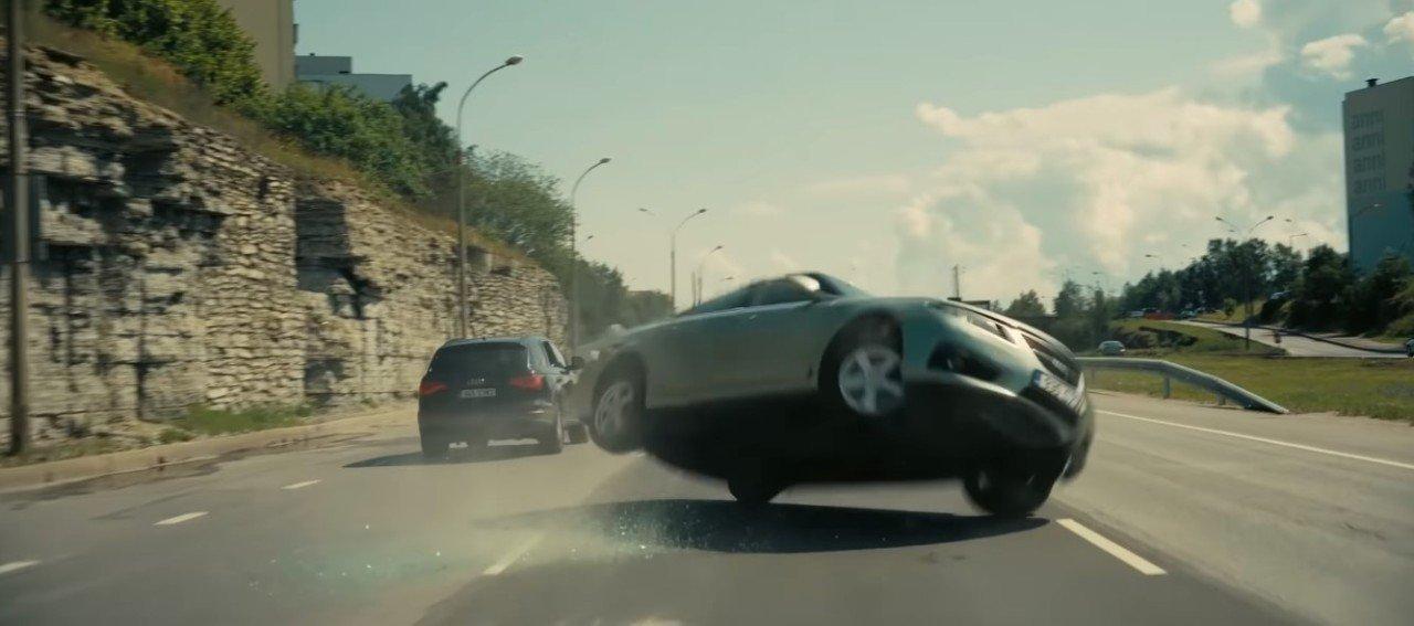 Así ha sido el cameo del Saab 9-5 en TENET, la nueva película de Nolan