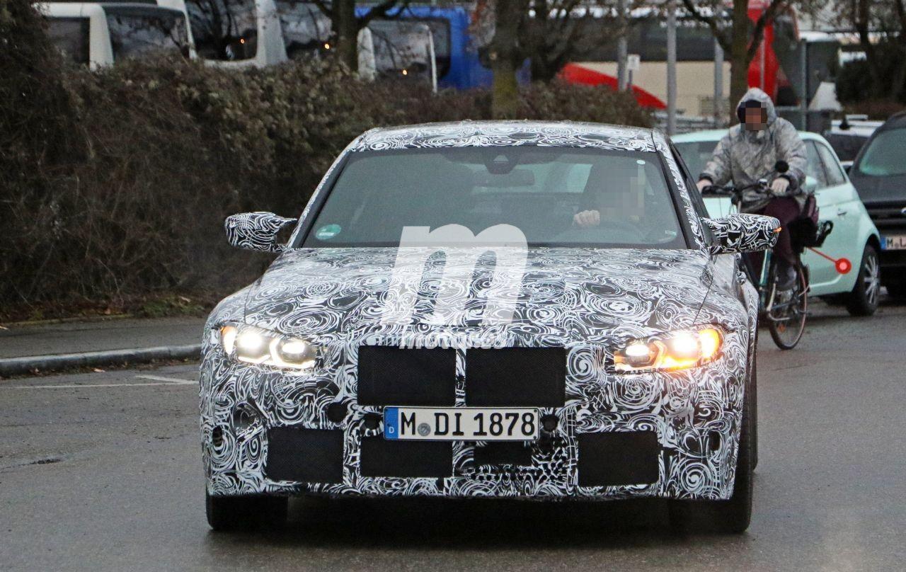 Nuevas fotos espía del BMW M3 G80 confirman el cambio manual y otros detalles