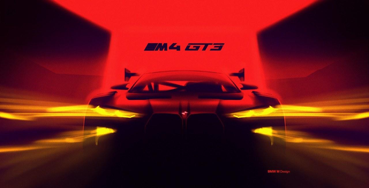 El BMW M4 GT3 confirma la enorme parrilla y más de 500 CV para la versión de calle