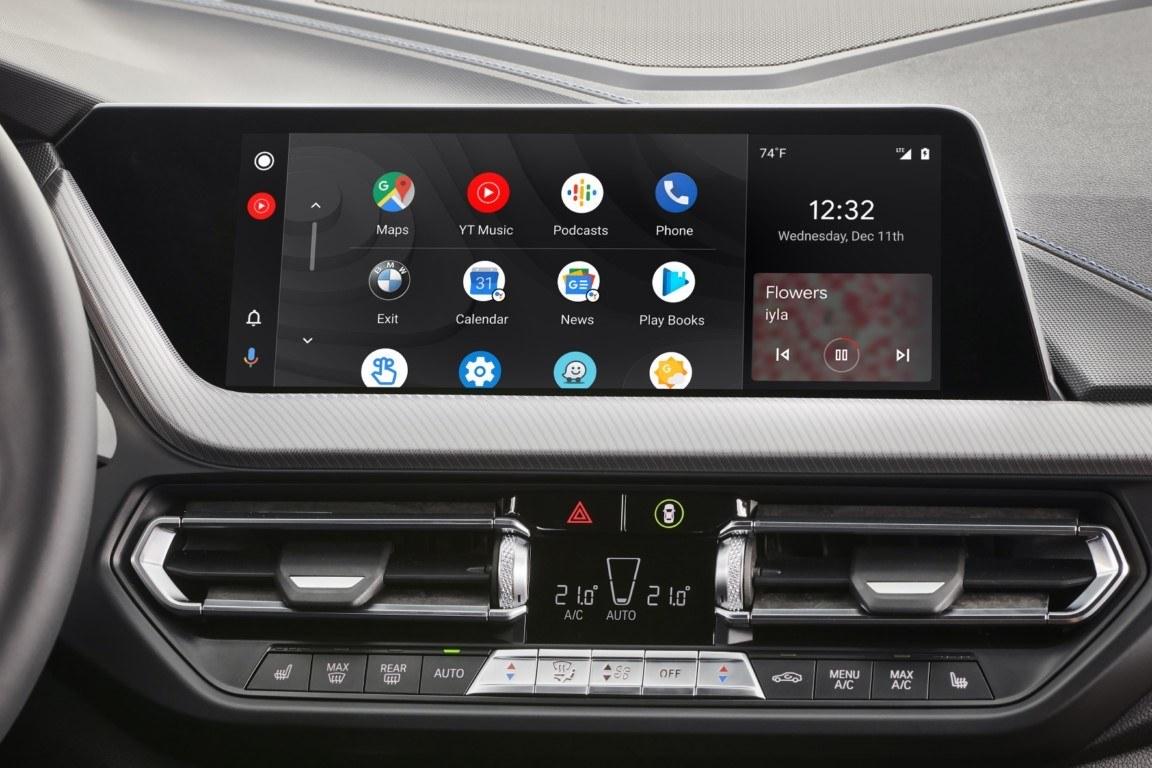 BMW incluirá la tecnología de Android Auto desde mediados de 2020