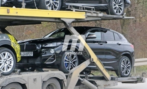 Nuevas fotos espía del BMW X2 Facelift, el SUV deportivo estrenará cambios en 2021
