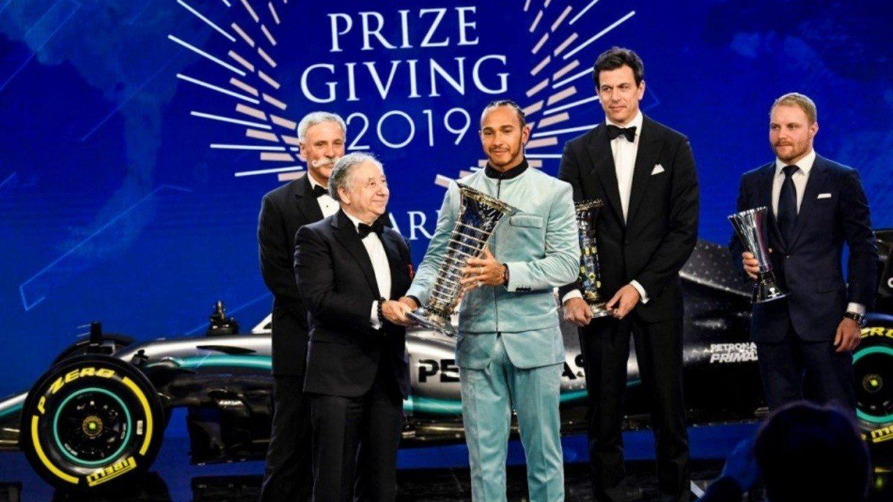 La FIA premia a los mejores de la temporada 2019 de F1
