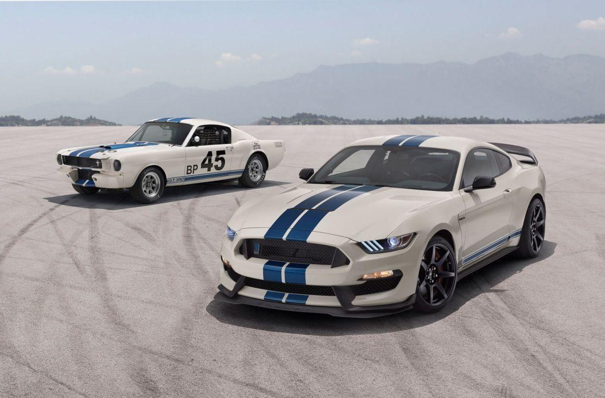 Ford presenta los nuevos Mustang Shelby Heritage Edition Package