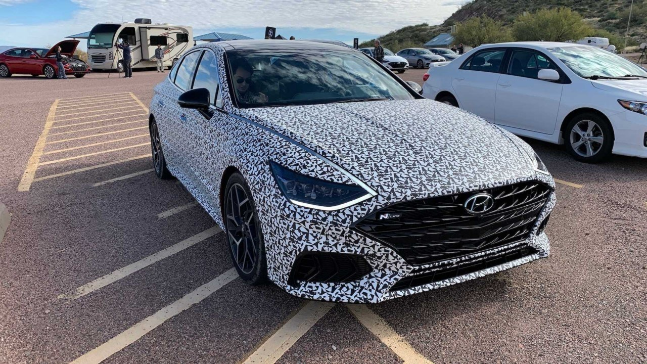 Hyundai confirma la producción del Sonata N-Line con los primeros prototipos
