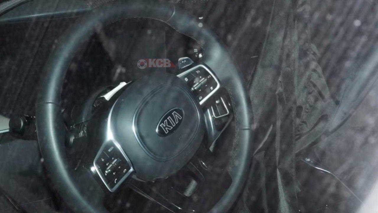 El interior del nuevo Kia Sorento al descubierto en estas fotos espía