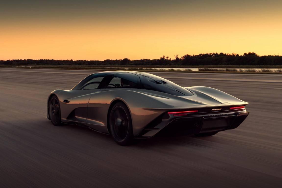 El nuevo McLaren Speedtail supera los 400 km/h más de 30 veces seguidas